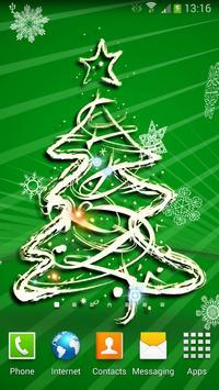 3D Christmas Tree Wallpaper screenshot 1