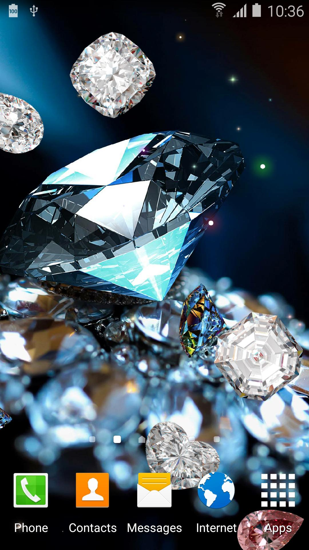 Diamonds Live Wallpaper For Android Apk Download