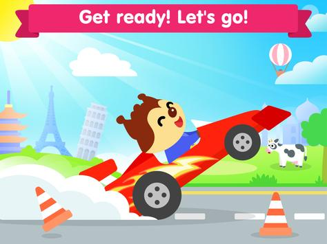 Car game for toddlers - kids cars racing games スクリーンショット 14