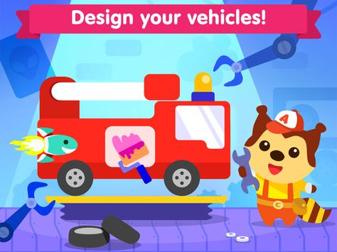 Car game for toddlers - kids cars racing games スクリーンショット 11