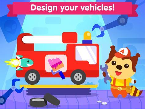 Car game for toddlers - kids cars racing games ảnh chụp màn hình 11