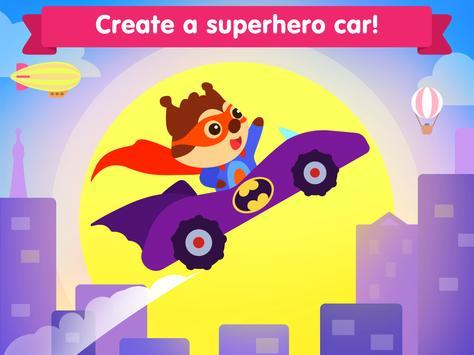 Car game for toddlers - kids cars racing games ảnh chụp màn hình 12