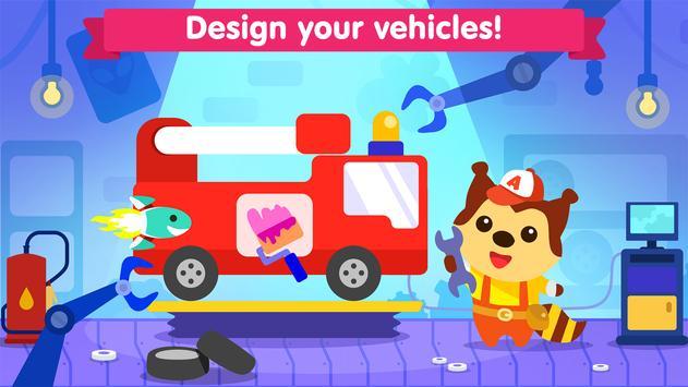 Car game for toddlers - kids cars racing games screenshot 1
