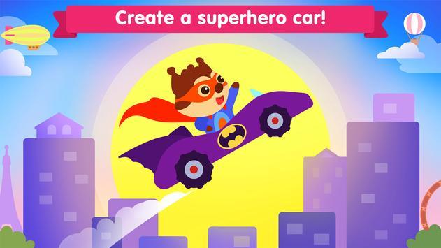 Car game for toddlers - kids cars racing games ảnh chụp màn hình 2
