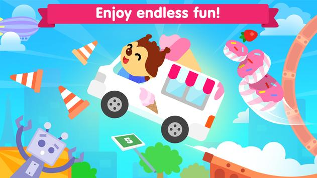 Car game for toddlers - kids cars racing games スクリーンショット 3