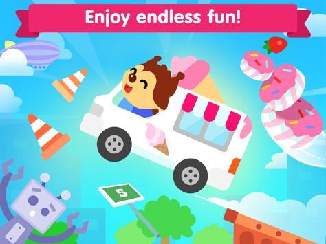 Car game for toddlers - kids cars racing games スクリーンショット 8