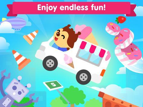 Car game for toddlers - kids cars racing games ảnh chụp màn hình 8
