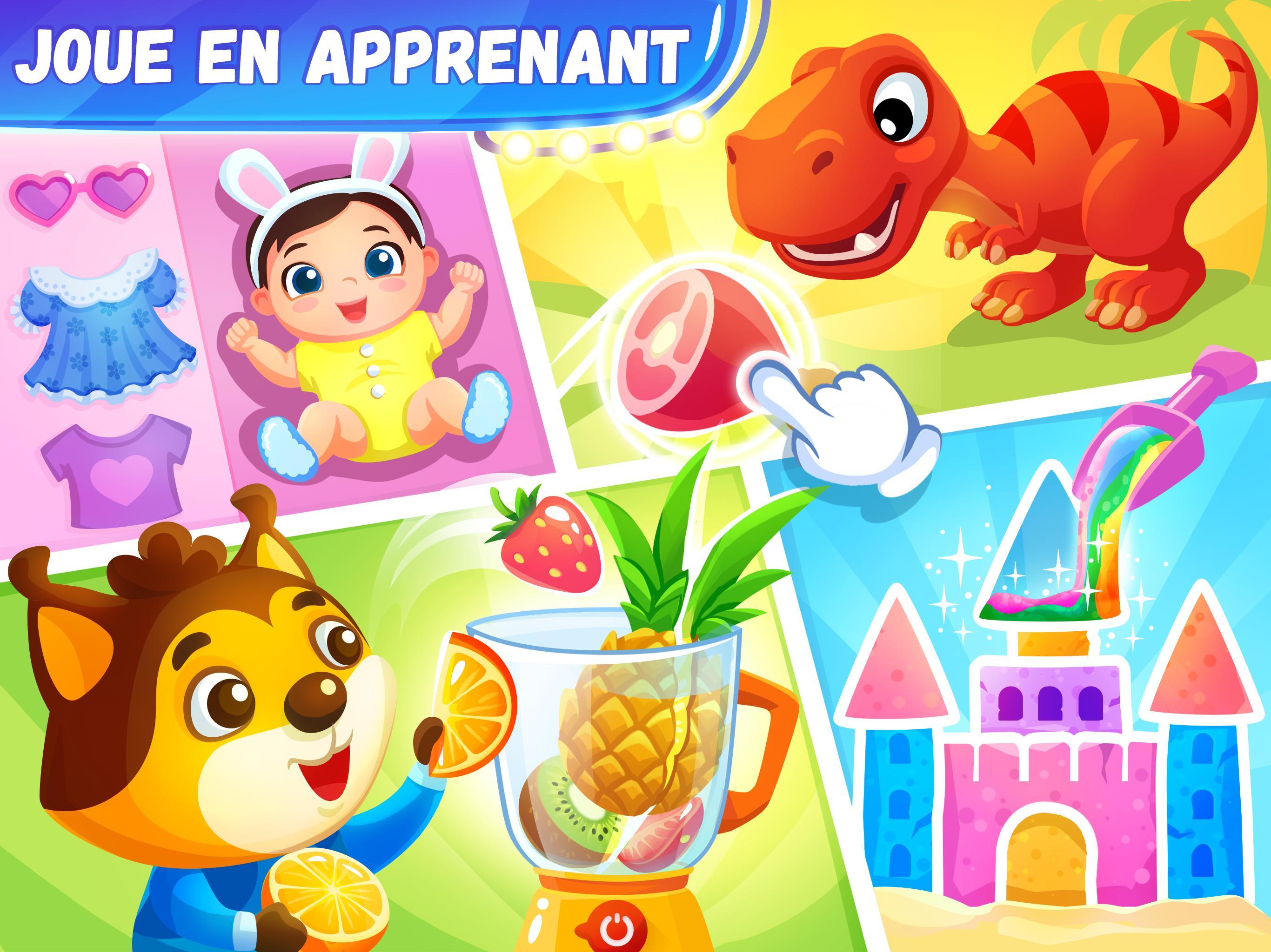 Jeux éducatifs pour les enfants de 4 6 ans pour Android - Téléchargez l'APK