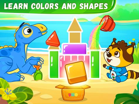 Educational games for kids & toddlers 3 years old screenshot 8