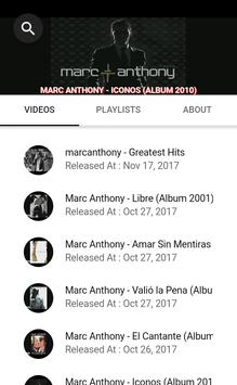 MARC ANTHONY SONGS poster