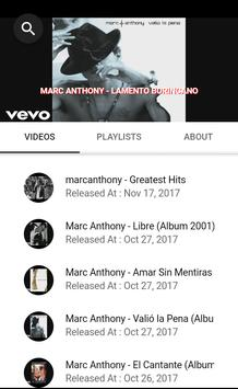 MARC ANTHONY SONGS screenshot 11