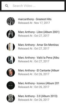MARC ANTHONY SONGS screenshot 1