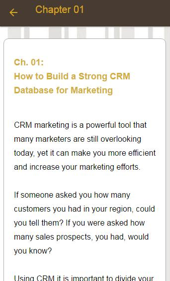 Customer Relationship Marketing for Android - APK Download