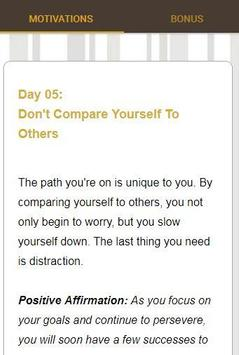30 Days Of Motivation - Daily Affirmations screenshot 1