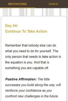 30 Days Of Motivation - Daily Affirmations screenshot 2