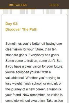 30 Days Of Motivation - Daily Affirmations screenshot 3