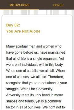 30 Days Of Motivation - Daily Affirmations screenshot 4