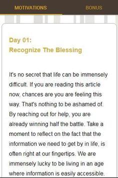 30 Days Of Motivation - Daily Affirmations screenshot 5