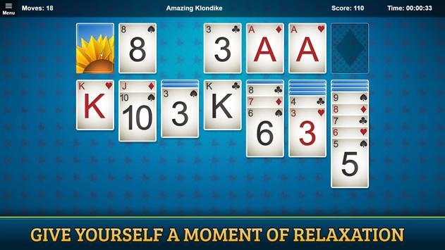 Amazing Klondike Solitaire screenshot 5
