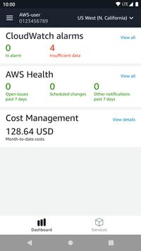 AWS Console poster