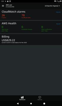 AWS Console screenshot 20