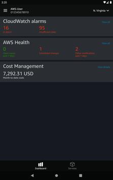 AWS Console скриншот 11