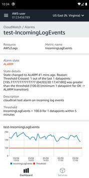 AWS Console screenshot 5