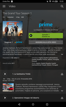 5 Schermata Amazon Prime Video