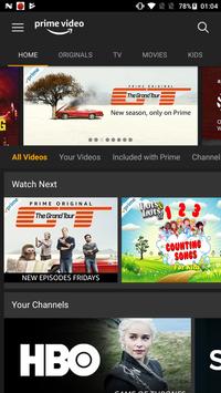 Amazon Prime Video الملصق