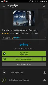 Amazon Prime Video capture d'écran 2
