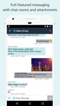 Amazon Chime скриншот 2