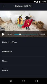 Amazon Cloud Cam Ekran Görüntüsü 3