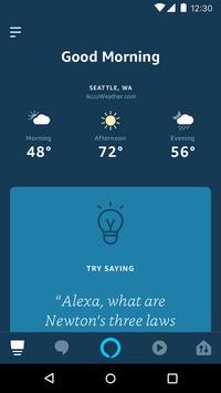 Amazon Alexa poster