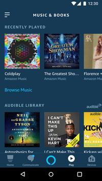 Amazon Alexa स्क्रीनशॉट 3