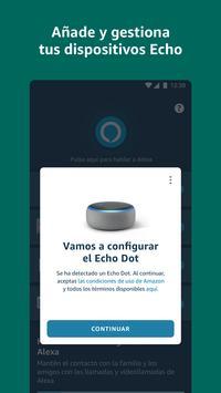 Amazon Alexa captura de pantalla 1