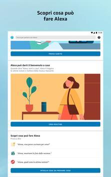 13 Schermata Amazon Alexa