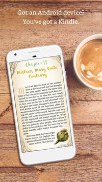 Amazon Kindle الملصق