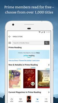 Amazon Kindle تصوير الشاشة 2