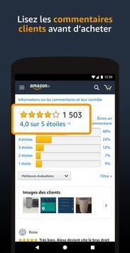 Boutique Amazon capture d'écran 6
