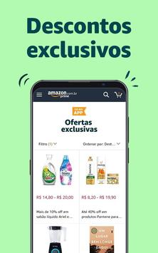 Amazon Shopping Cartaz