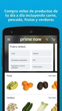 Amazon Prime Now captura de pantalla 1