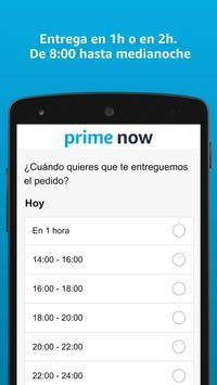 Amazon Prime Now captura de pantalla 2