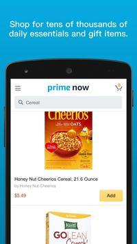 Amazon Prime Now screenshot 1
