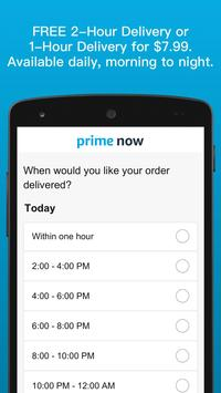Amazon Prime Now screenshot 2