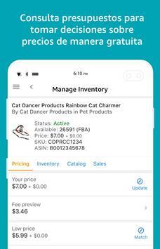 Amazon Vendedor captura de pantalla 6