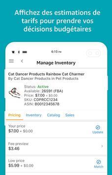 Amazon Vendeur capture d'écran 6
