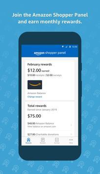 Amazon Shopper Panel poster