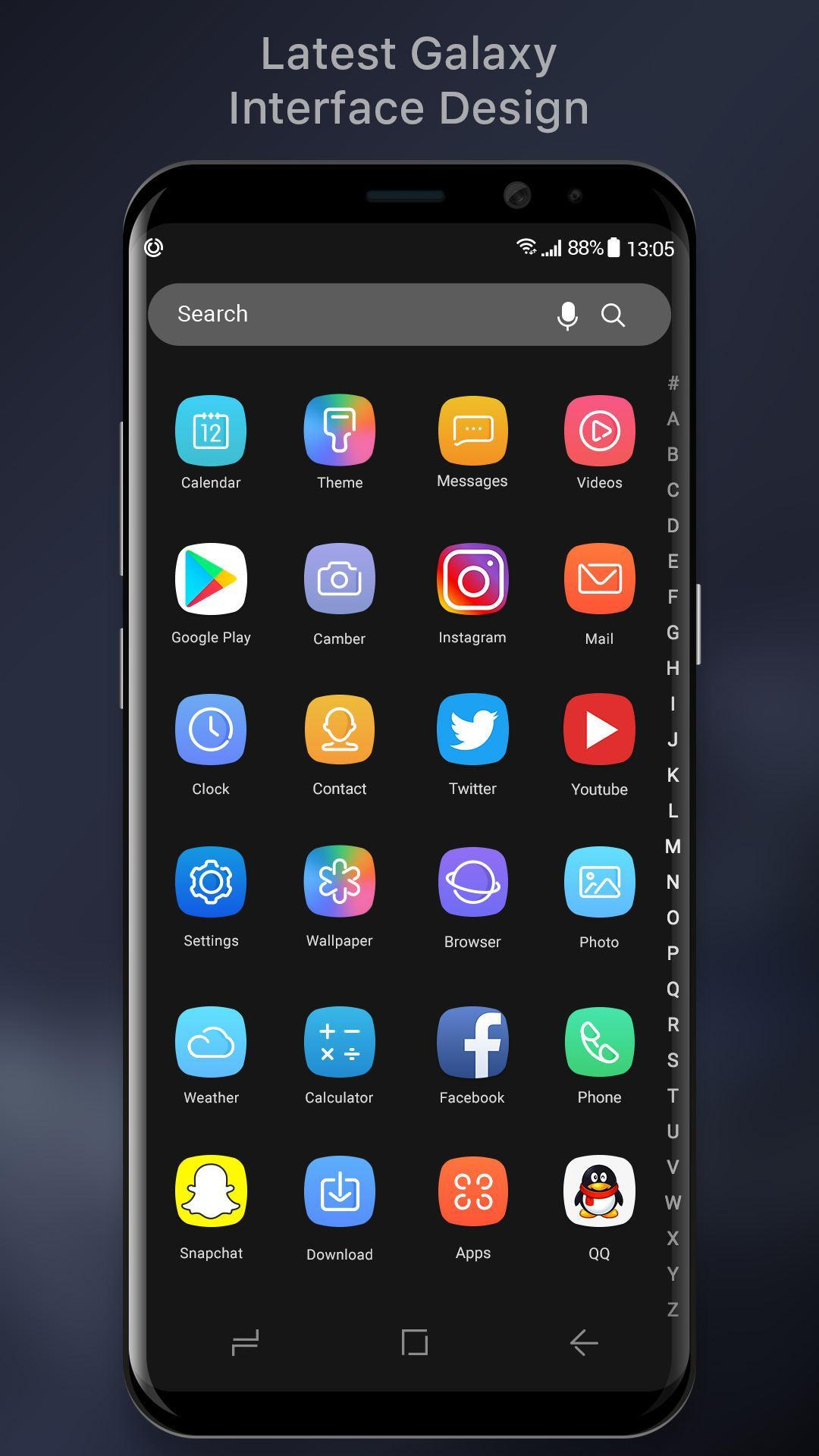 S9 Galaxy Launcher for Samsung for Android - APK Download
