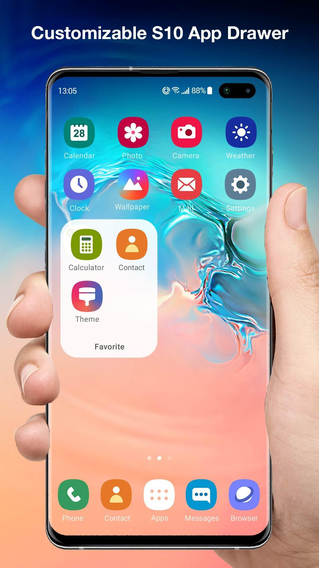 Galaxy S10 Launcher for Samsung for Android - APK Download