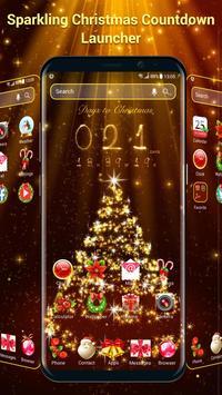 Christmas 3D Launcher & Countdown Widget poster
